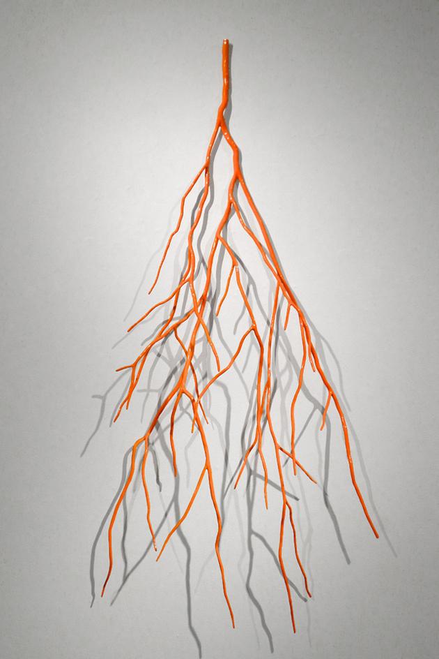 """Shane Dark's  """"Bough Laden with Fluorescent Orange"""""""